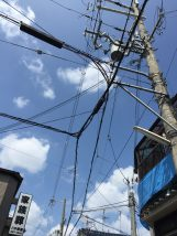 東大阪市で廣瀬が新しいお仕事の現調をしている