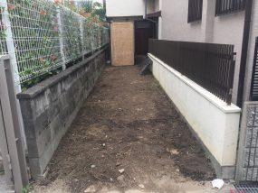 吹田市で解体工事がスタートしました。二日目