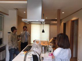 奈良県のOB様邸にて定期点検に行ってきました